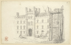 Building Works At Trinity College, Cambridge, 1824